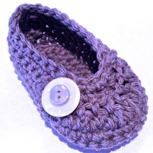 Knitting Pattern For Kids Ballet Slippers Ravelry Oh Baby Button