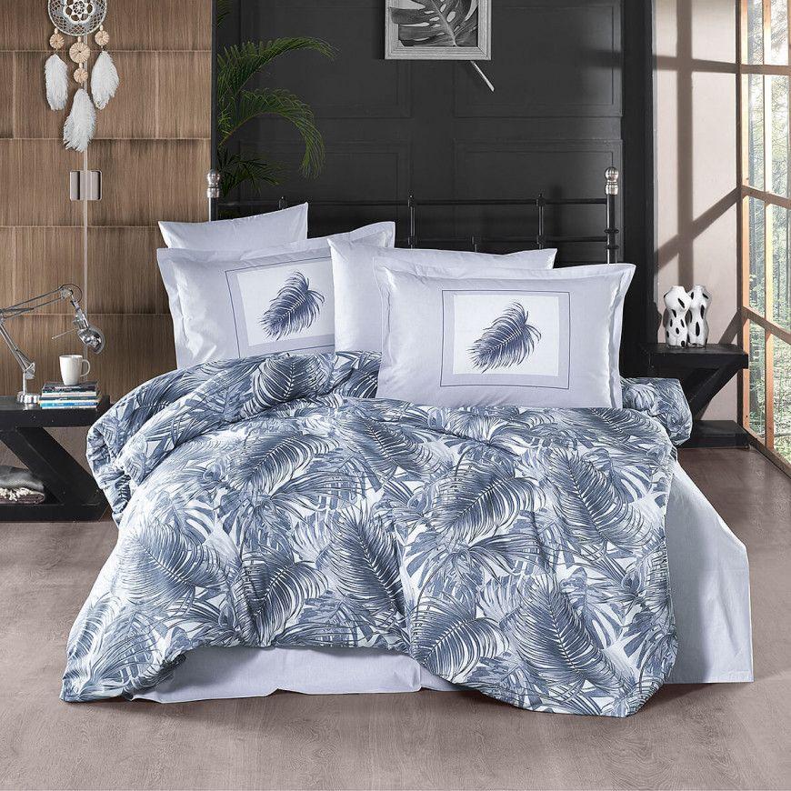 طقم غطاء لحاف بوما مزدوج رصاصي مزخرف عدد القطع 6 Duvet Bedding Bedding Set Quality Bedding