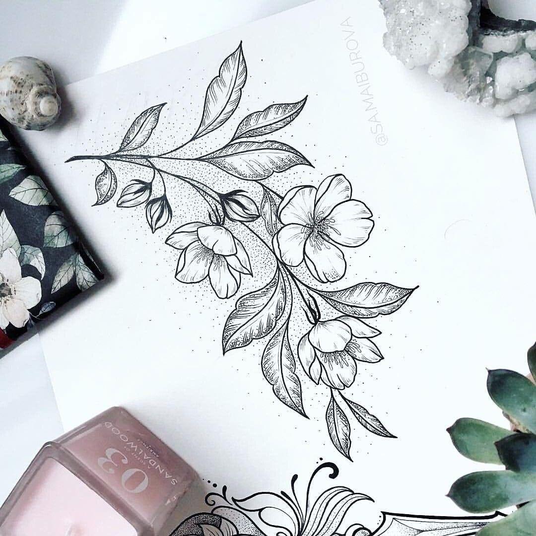 Photo of Flores –  Flores  – #compasstattoo #flores #flowertattoo #moontattoo #tattoo