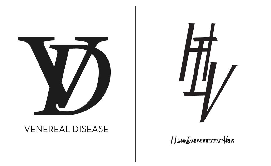Sexually transmitted diseases logo design