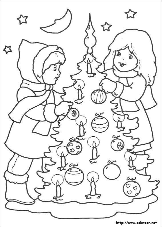 dibujos para imprimir de navidad   dibujos de navidad volver a la ...
