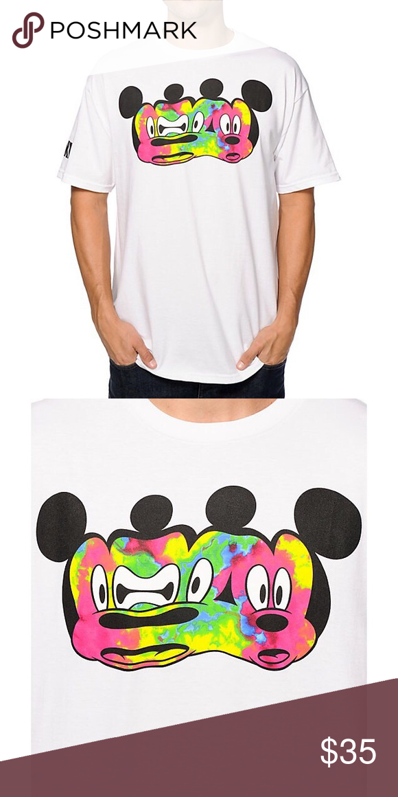 b52c09e5f70 Distored Mickey Mouse Stretch T Shirt by Neff Brand new without tags Size M  100 % cotton Limit edition Disney Shirts Tees - Short Sleeve