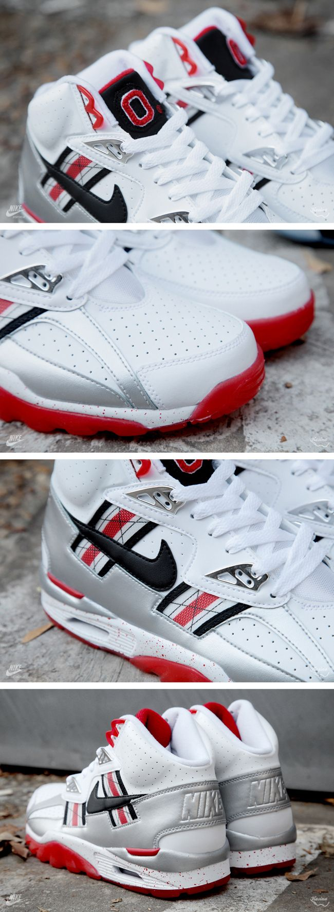 """Nike Air Trainer SC QS """"Ohio State Buckeyes†(Detailed Pictures ... 66e411dc097f"""