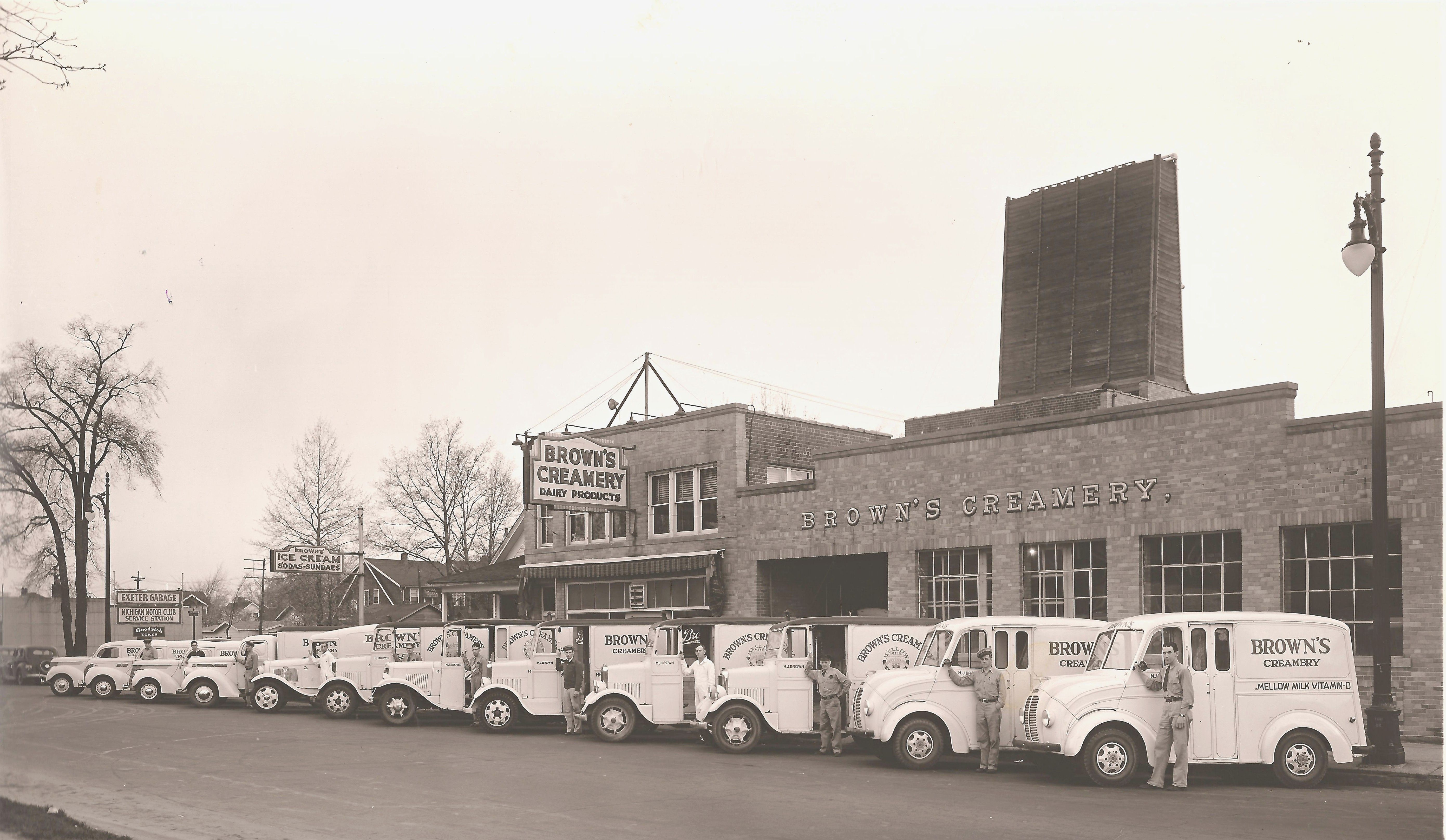 Browns creamery my grandfathers dairy in detroit milk came to browns creamery my grandfathers dairy in detroit aiddatafo Image collections