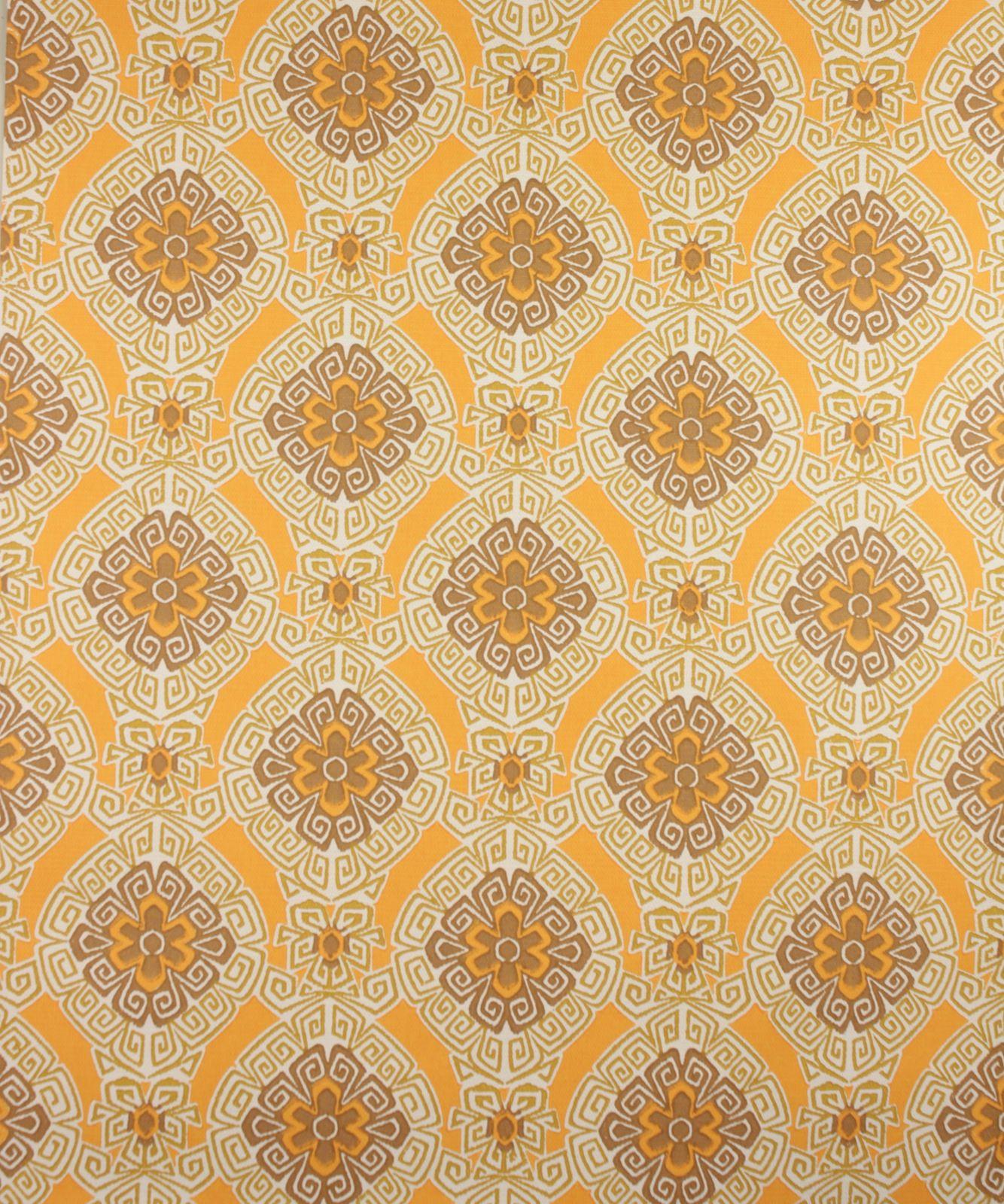 New Oranje retro behang | Swiet artikel 6654 | Wallpaper @YY12