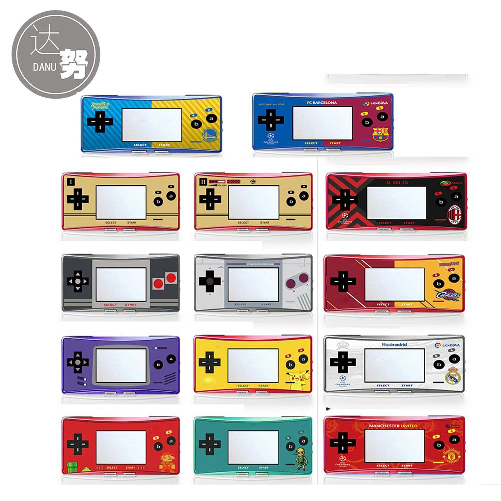 16 Off Limited Edition Label Sticker For Gameboy Micro Gbm Console Housing Front Cover Skin Gameboy Sticker Labels Console