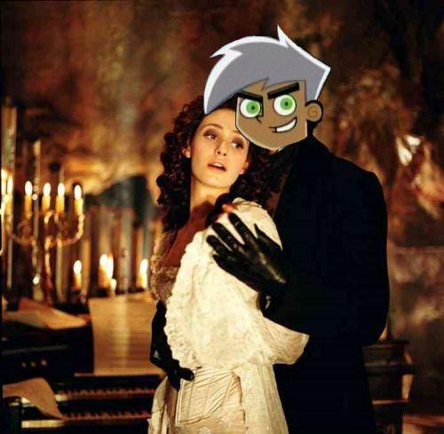 """He's a phantom."""