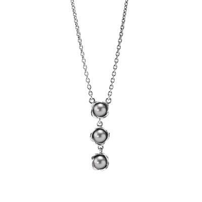 Three wishes grey pearl sterling silver necklace 45 cm 177 in three wishes grey pearl sterling silver necklace 45 cm 177 in mozeypictures Image collections
