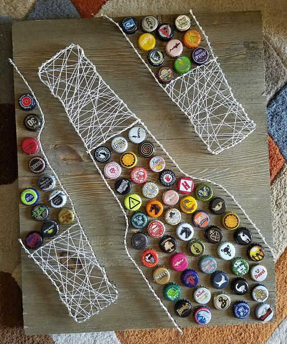Items similar to Craft beer string art on Etsy
