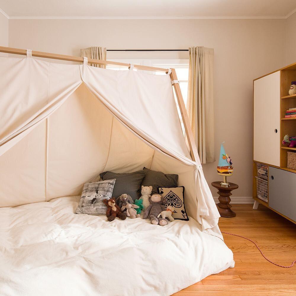 Cama Montessoriana Estilo Cabana M Veis Dormit Rio Pinterest  ~ Quarto Montessoriano Porto Alegre