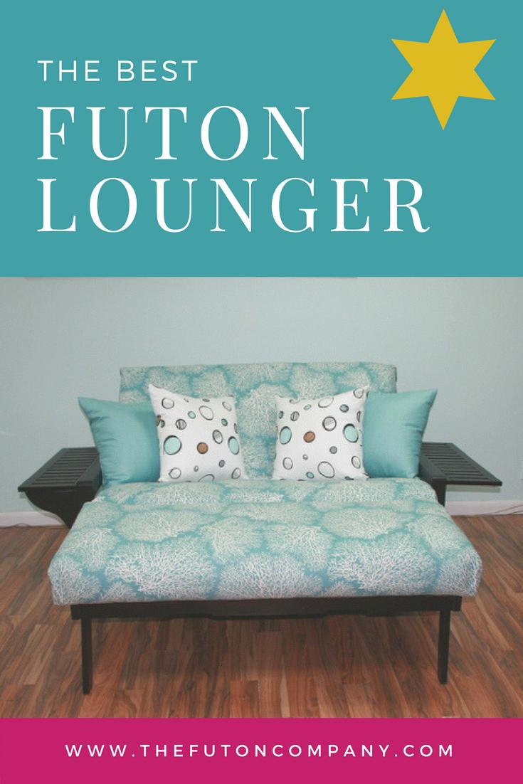 The Winston Full Size Lounger The Futon Company Futon Best Futon Lounger