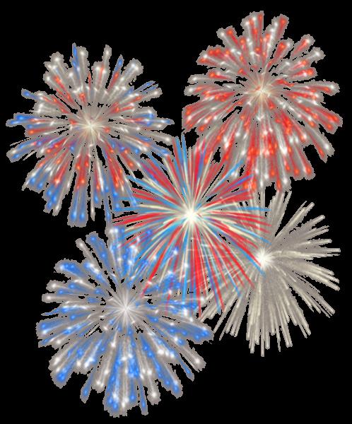 4th July Transparent Fireworks PNG Picture Fireworks