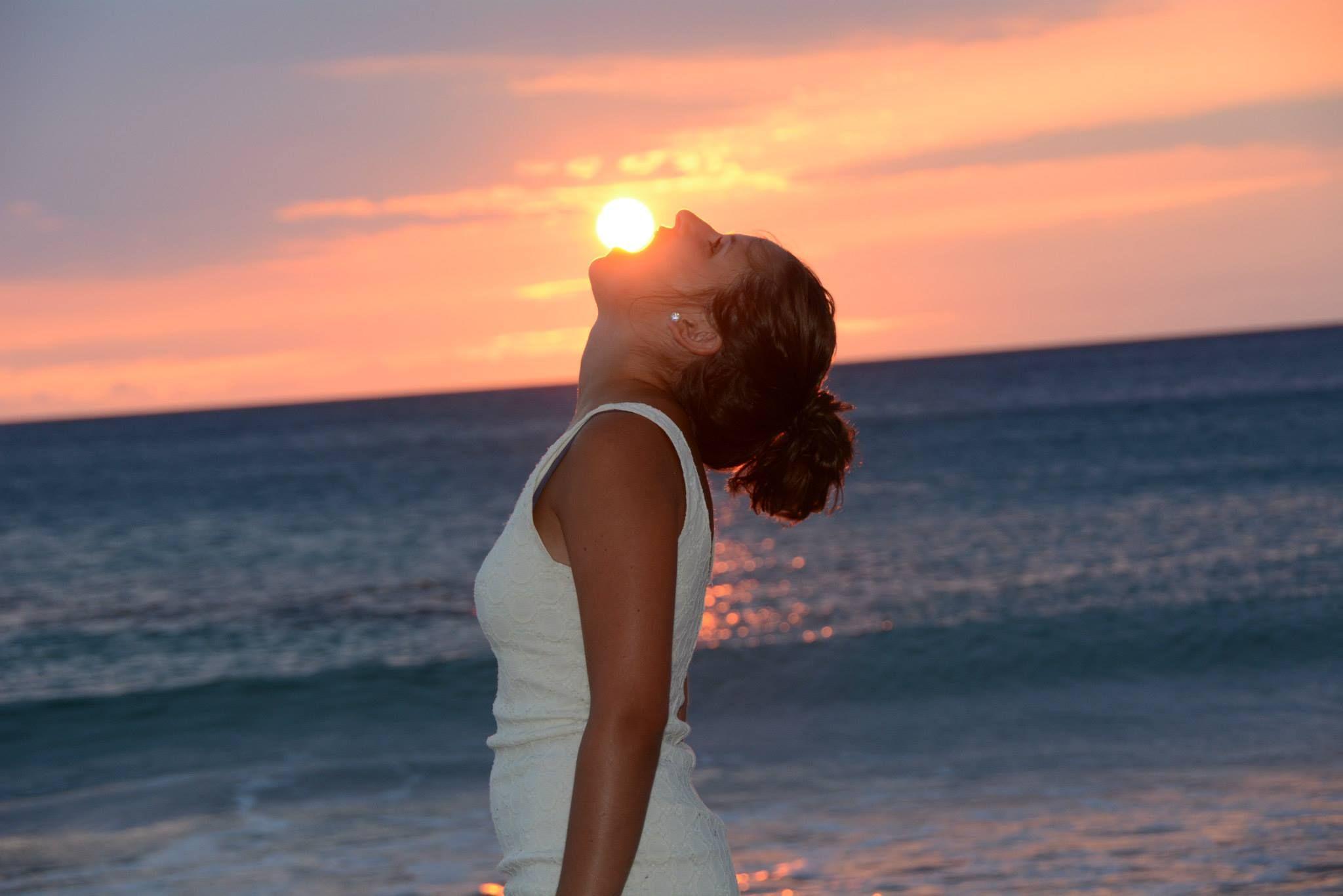Hawaii Big Island Sunset! #aupair #travel #hawaii #aupairadventures  aupairadventures.com
