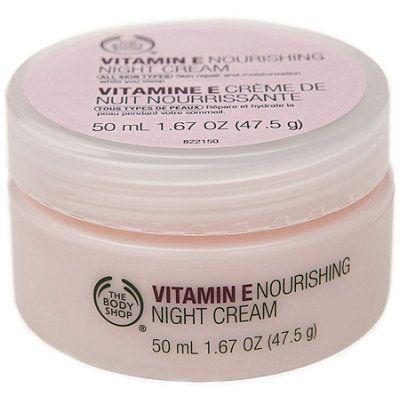 The Body Shopvitamin E Nourishing Night Cream The Body Shop Homemade Wrinkle Cream Body Shop Vitamin E