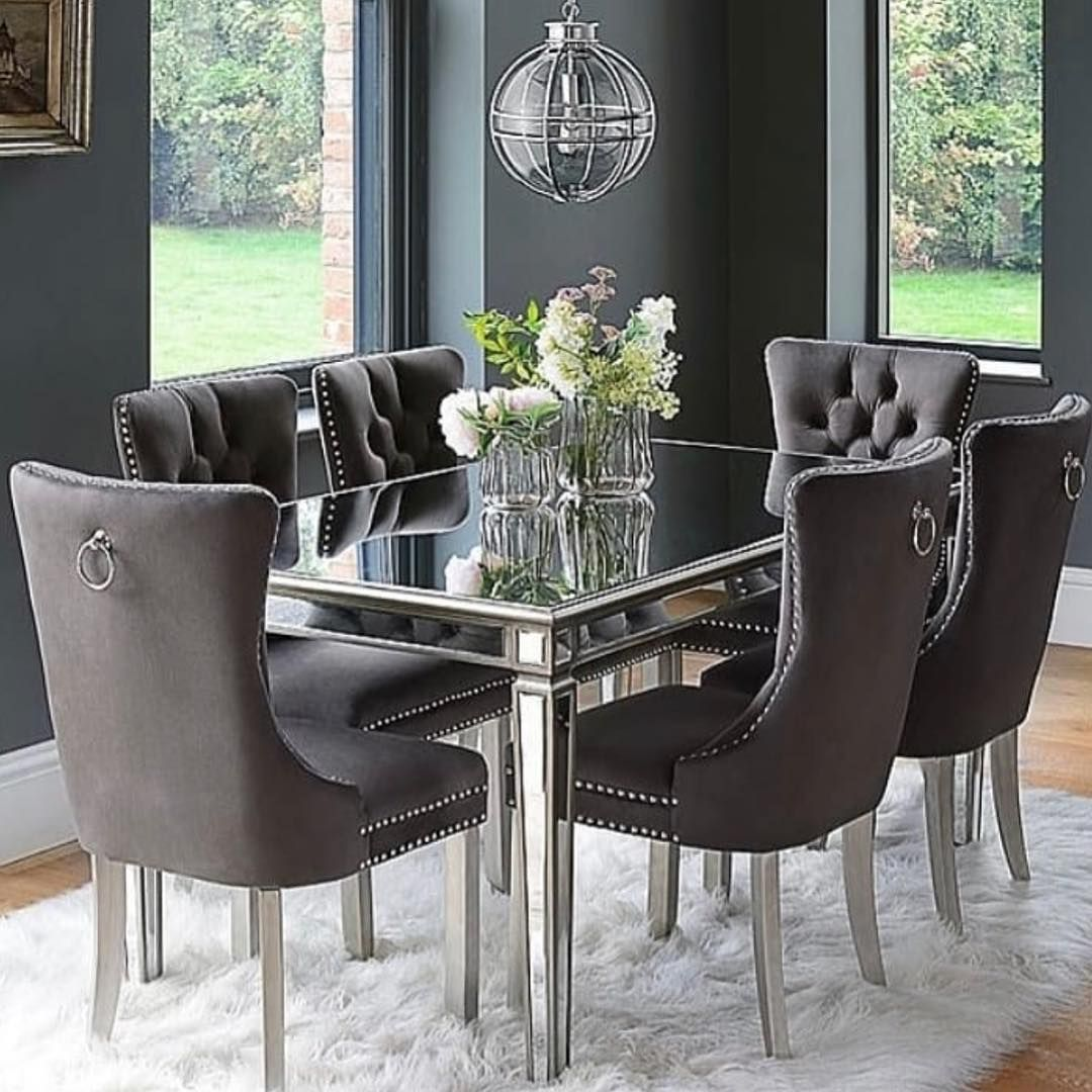 New The 10 Best Home Decor With Pictures Sipariş Için 0535 5429797 For Ordering Please Con Mirror Dining Table Luxury Dining Room Round Dining Room Sets