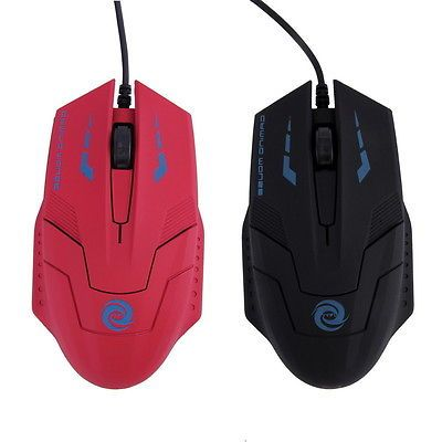 Cool USB Cable Optical Mouse Professional Gaming Mouse for PC Laptop Gamer DE