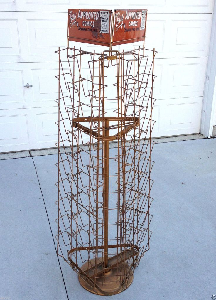 Image Result For Spinning Wire Comic Book Display Rack