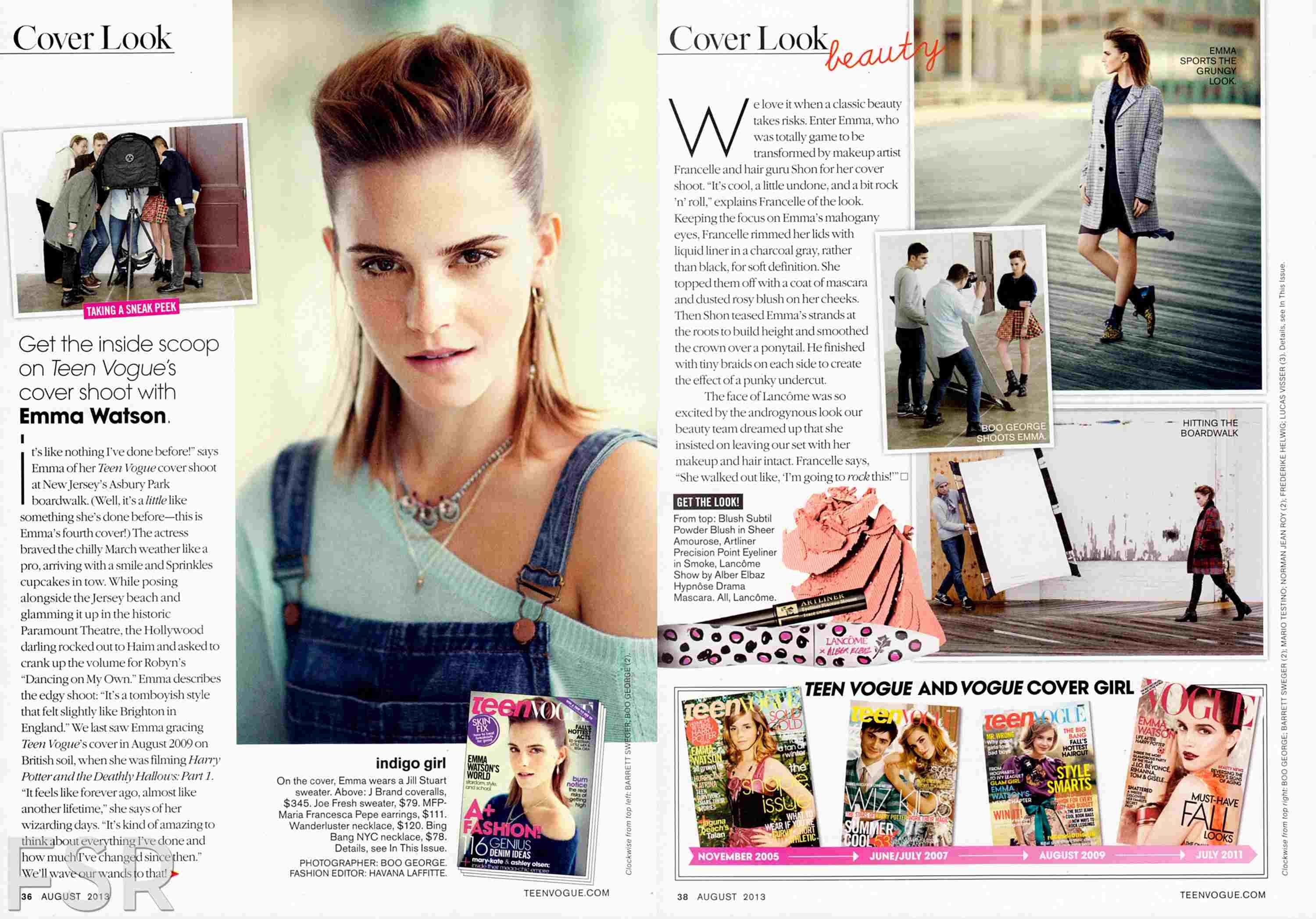 Teen Vogue interview | Emma Watson | Pinterest | Magazine ...