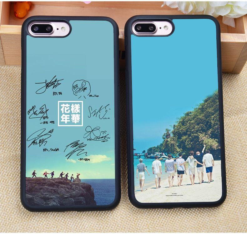 kpop iphone cases bangtan boys bts kpop printed soft rubber skin cell phone 12558