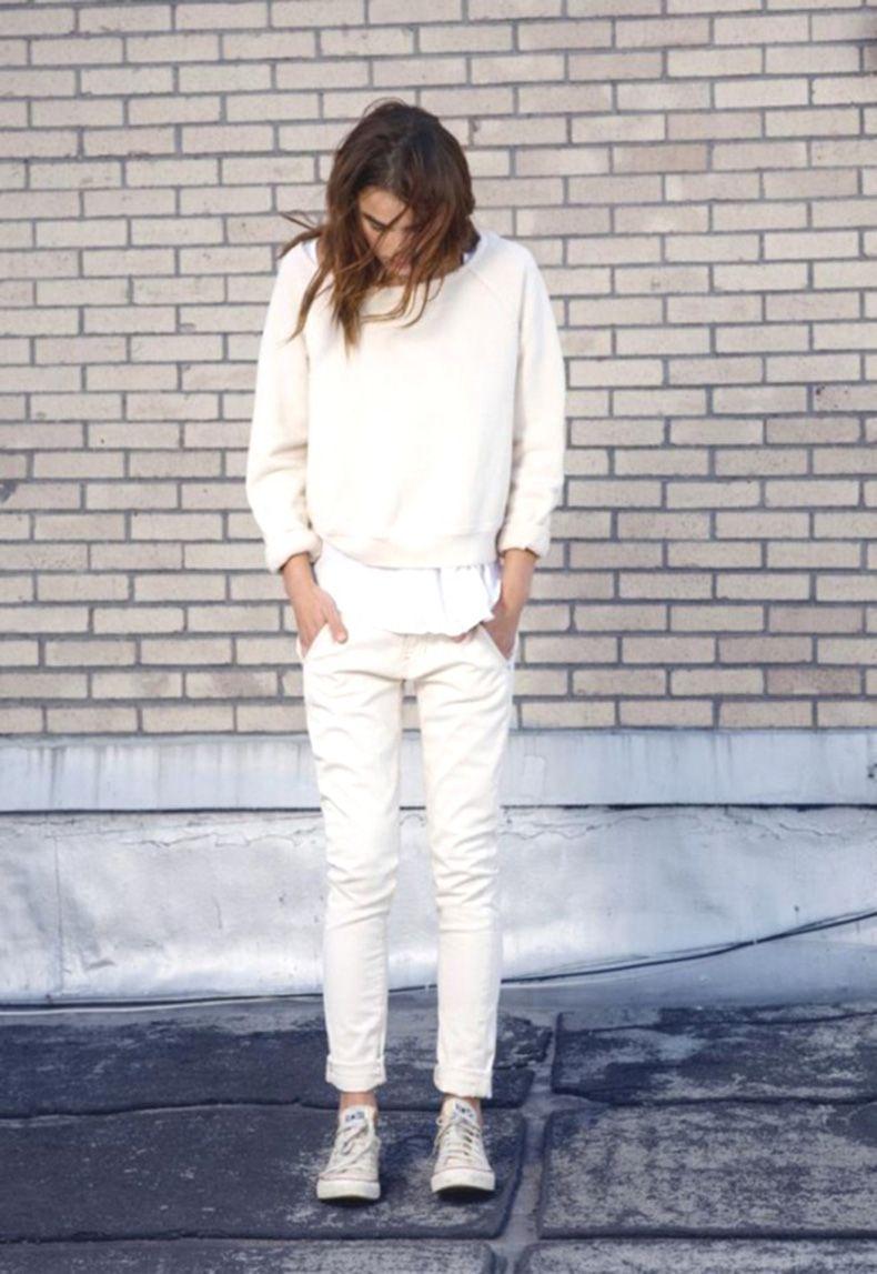 outfits para usar con tus nuevas zapatillas blancas clothes