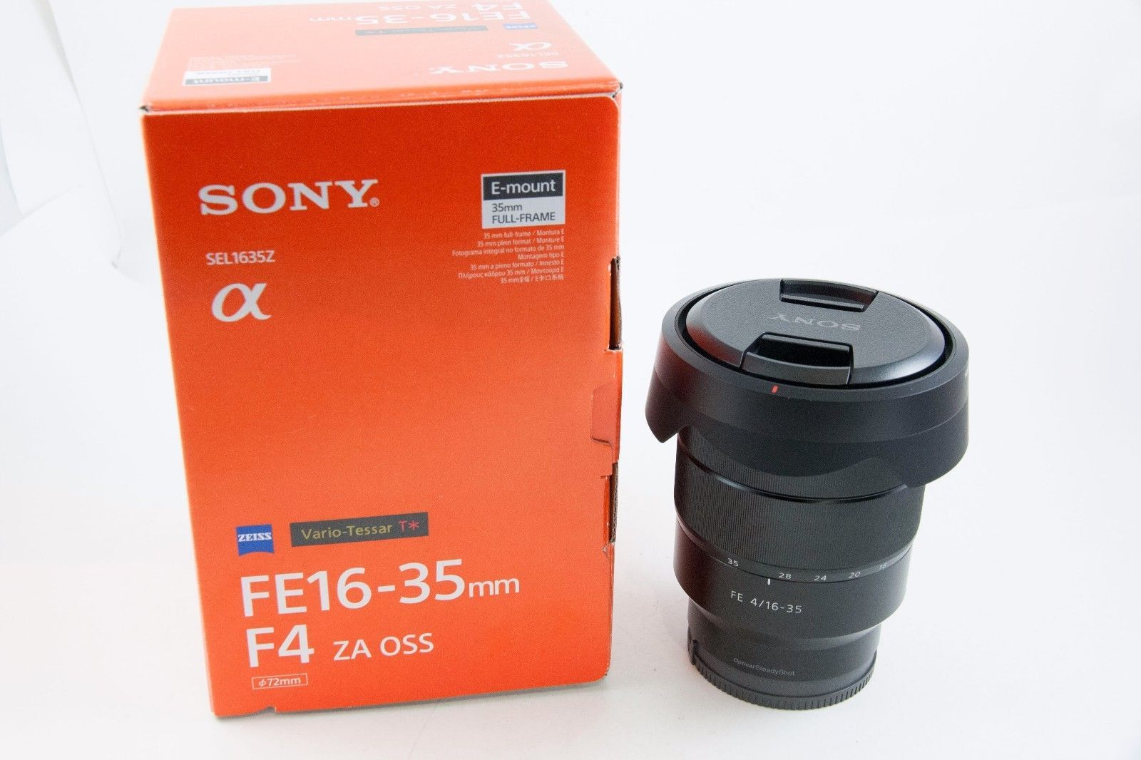 Sony Carl Zeiss Vario Tessar Fe T 16 35mm F 4 Za Oss Lens Sel1635z Zeiss Electronic Products Oss