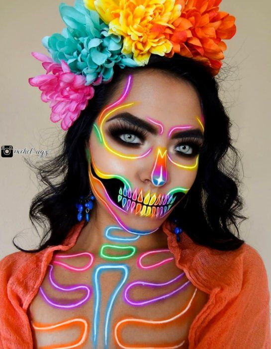 24 Ideas de modernos maquillajes de Catrina para celebrar el Día de Muertos