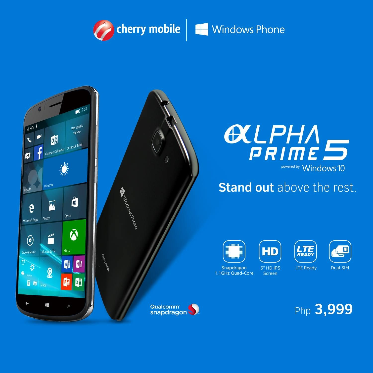 Cherry Mobile Alpha Prime 5 With Windows 10 Now Official