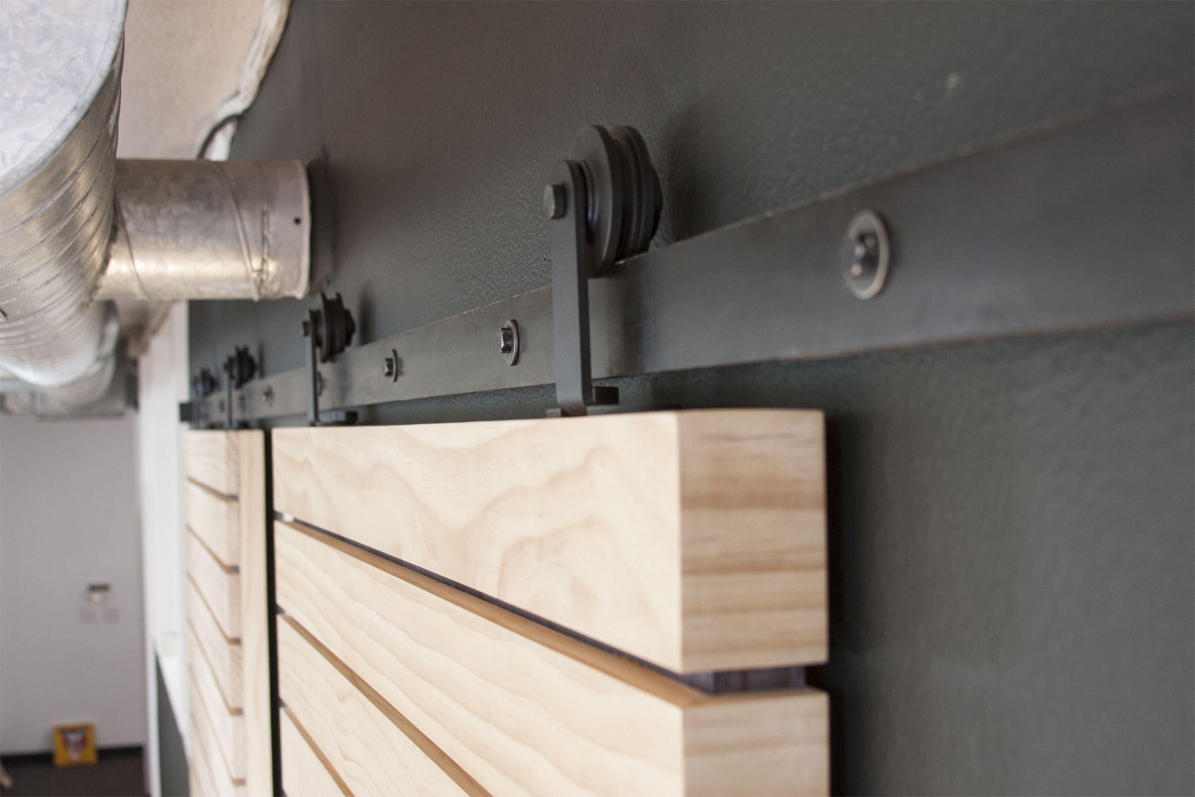 Aero Flat Track Kit | Sliding barn door hardware, Barn ...