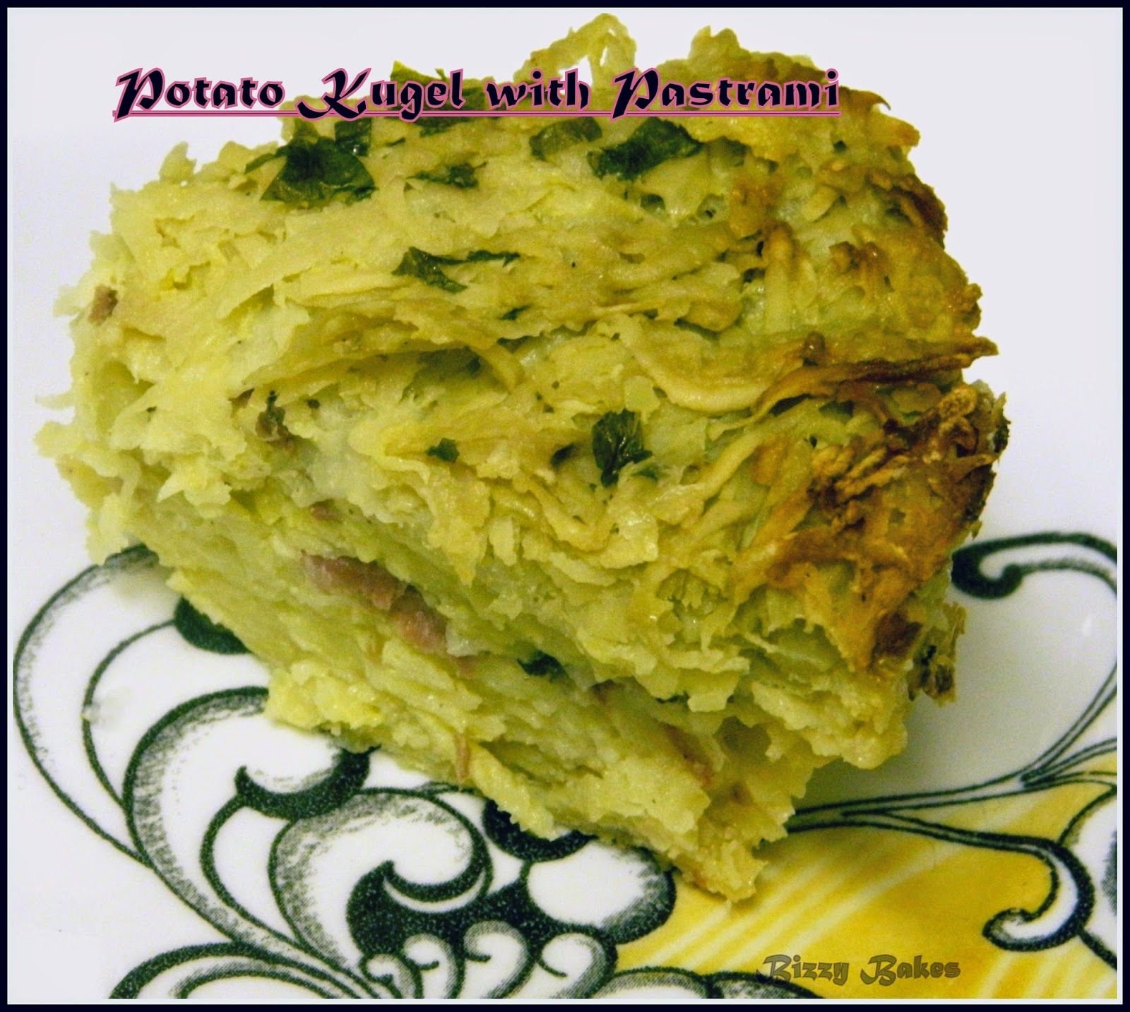 BIZZY BAKES: Potato Kugel with Pastrami