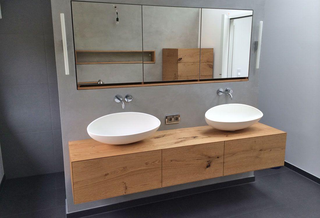 waschtisch h ngend schreinerei bad pinterest waschtisch badezimmer und b der. Black Bedroom Furniture Sets. Home Design Ideas