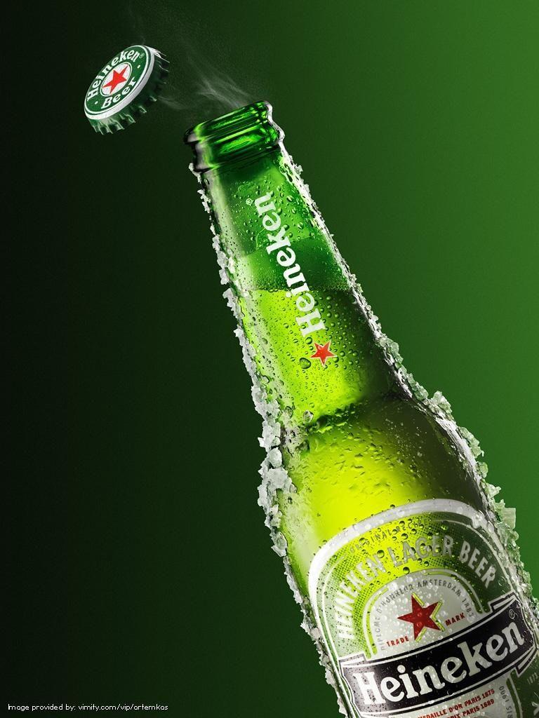 #Heineken by Artemkas #Vimity http://www.vimity.com/vip/artemkas/portfolio/food/#