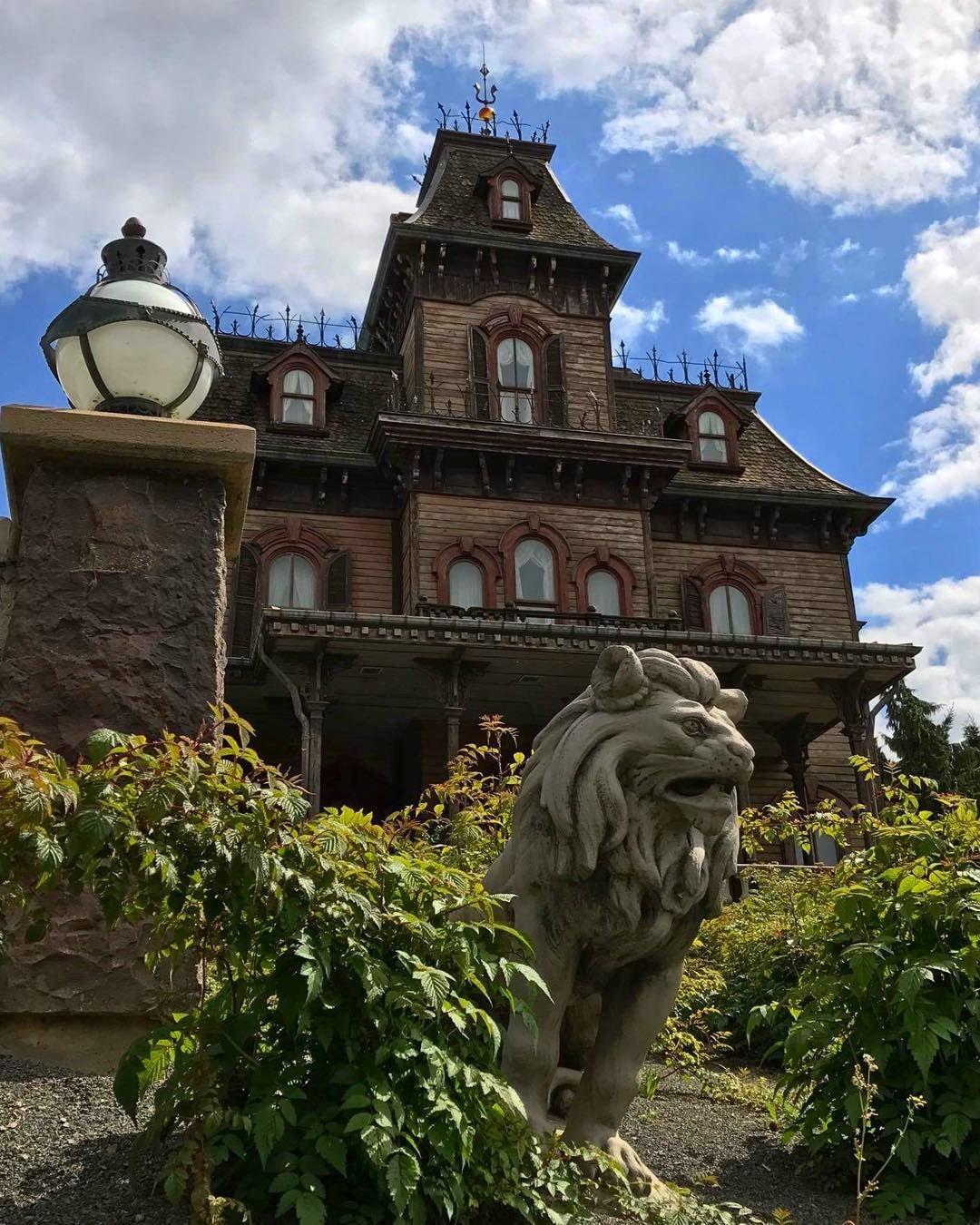 Phantom Manor Haunted House In Frontierland Disneyland