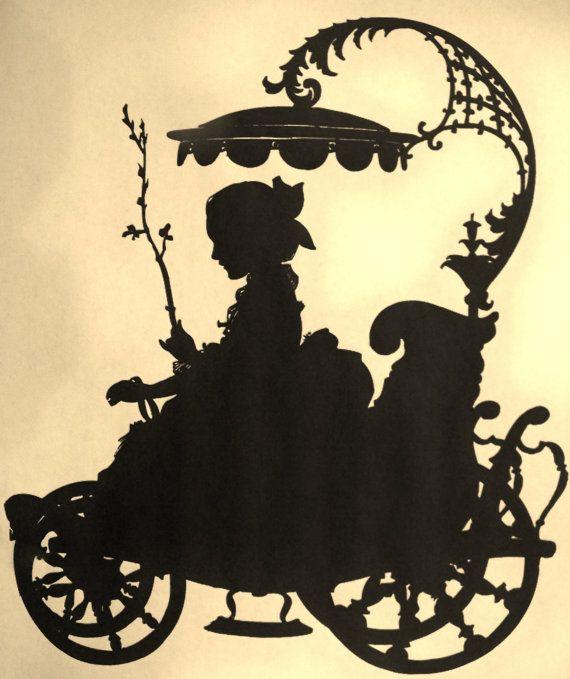 Carolina Vintage Large Metal Silhouette for the Garden or Yard Art