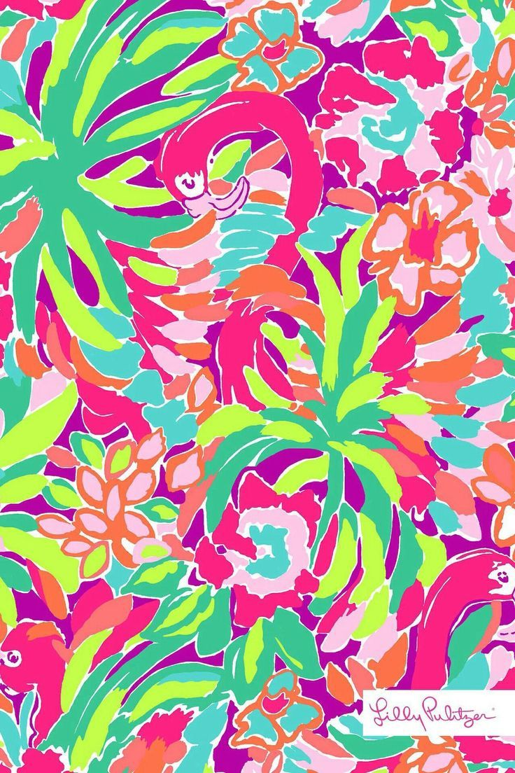 Some Like it Hot Pink Flamingo Lilly Pulitzer (736