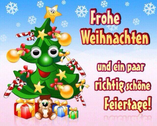 Frohe Weihnachten und ein paar richtig schöne Feiertage!