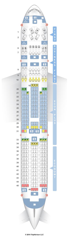SeatGuru Seat Map Garuda Indonesia Boeing 777-300ER (77W - seating chart