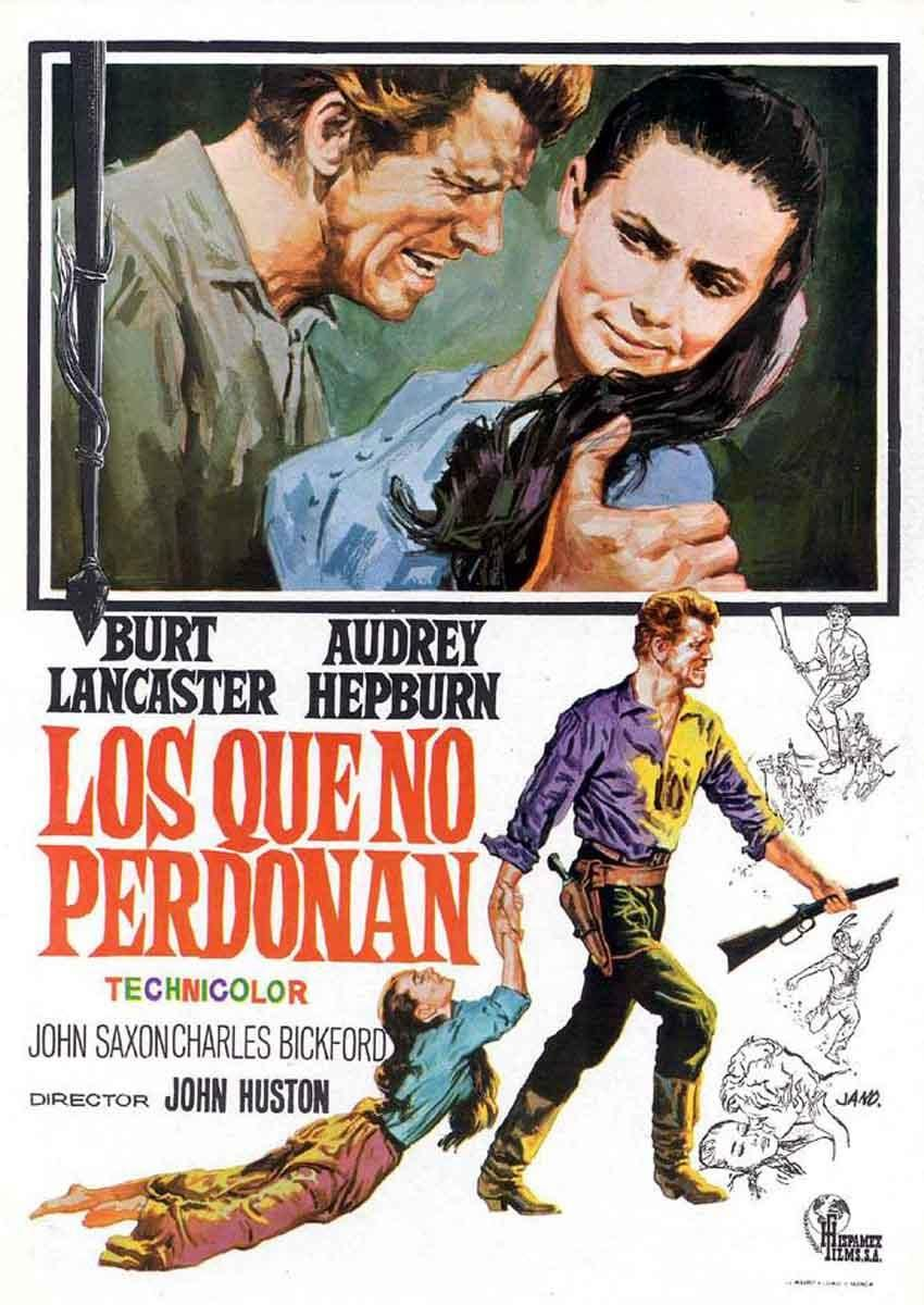 The Unforgiven 1960 Amazing Movie Posters Audrey Hepburn Movie Posters Movie Posters Audrey Hepburn Movies