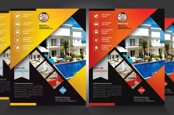 Real Estate New Listing Flyer V1 Con Imagenes Interiores