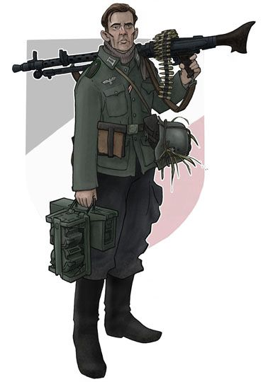 OST front MG-34 gunner by jimmymcwicked.deviantart.com on @deviantART