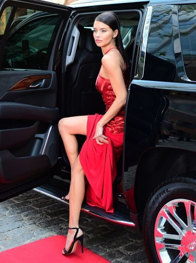 "1e380f80850 Adriana Lima – ""Red Hot"" Photoshoot"