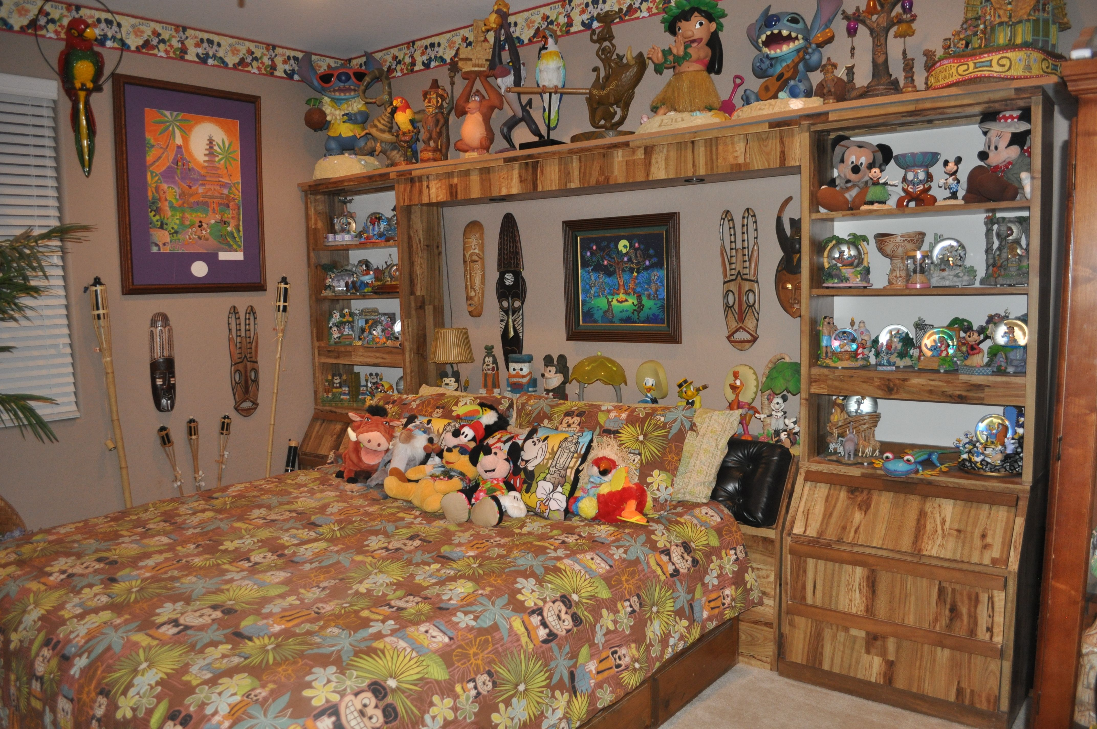 disneytiki room bedroom decorating lilo and stitch my disney decorating. Black Bedroom Furniture Sets. Home Design Ideas