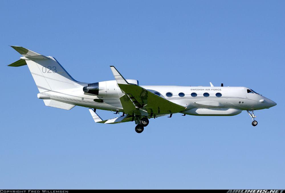 "Risultati immagini per Swedish Air Force Gulfstream S102B ""Korpen"""