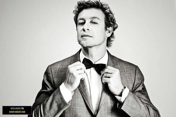 Image result for black and white simon baker