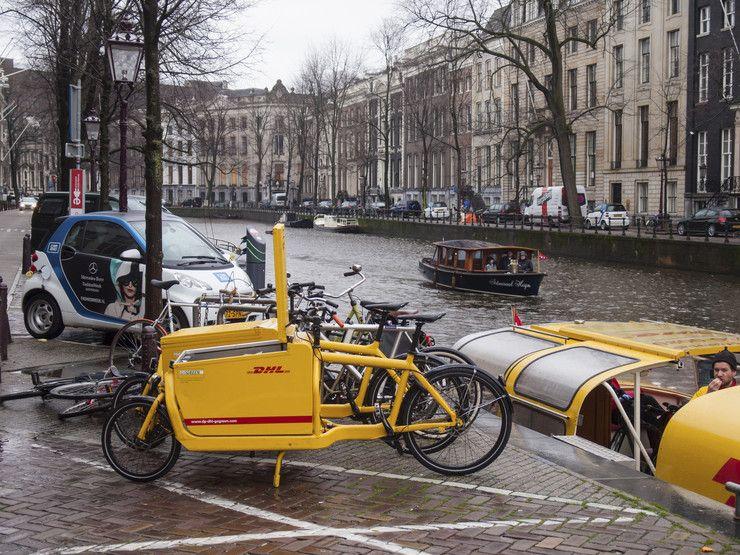 Jak jeździć rowerem w Amsterdamie Podróże Podróże