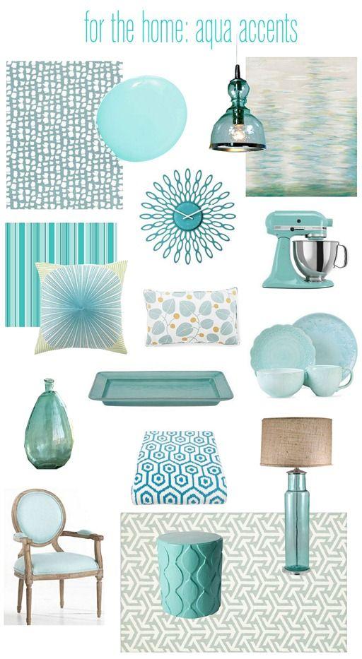 Designer Palette Aquamarine Family Room Inspiration Decor Home Decor