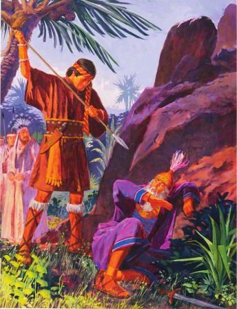 Book Of Mormon Ammon And King Lamoni S Father With Images