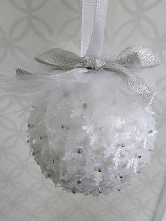 Polystyrene Balls Christmas Decorations Diy Christmas Ornament Styrofoam Balls Beads Little Fabric