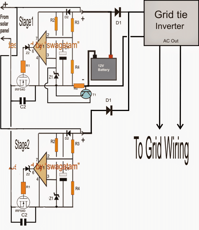 Optimizing Grid, Solar Electricity with Inverter (With