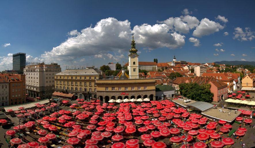 Dolac Market Zagreb Dolac Zagreb Croatia