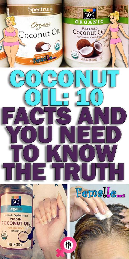 Women health care coconut oil
